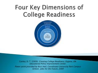 Four Key Dimensions of College Readiness
