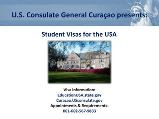 Student Visas for the USA