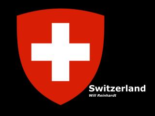 Switzerland Will Reinhardt
