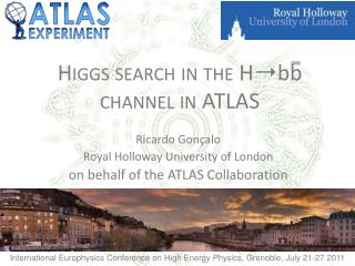 Higgs search in the  H?bb channel in ATLAS