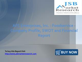 JSB Market Research: AFC Enterprises, Inc