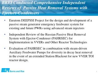 Passive Heat Removal System with Ejector-Condenser (PAHRSEC)