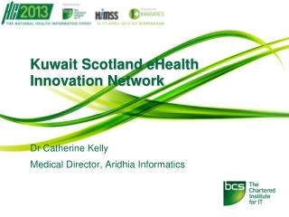 Kuwait Scotland  eHealth  Innovation Network