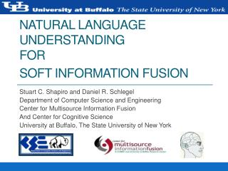 Natural Language Understanding for Soft Information Fusion