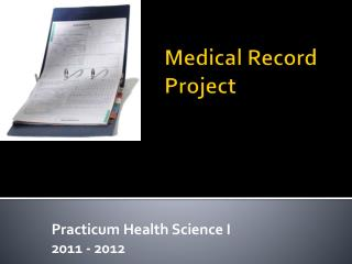 Medical Record Project