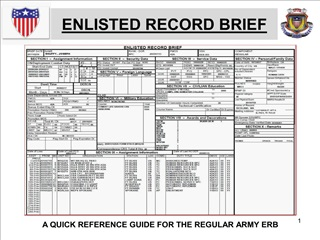 ENLISTED RECORD BRIEF