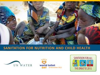 Sanitation for nutrition and child health