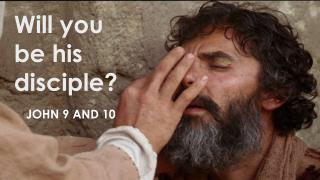 Will you be his disciple?