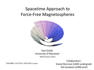 Spacetime  Approach to Force-Free Magnetospheres