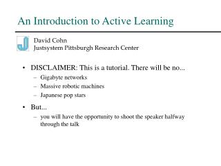 An Introduction to Active Learning
