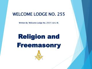 WELCOME LODGE NO. 255