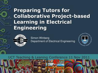 Preparing Tutors for Collaborative Project-based Learning in Electrical Engineering