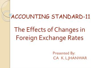 ACCOUNTING STANDARD-11