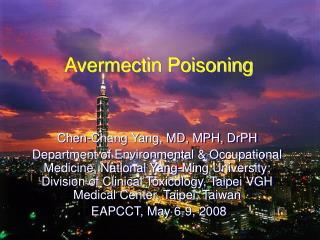 Avermectin Poisoning
