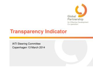 Transparency Indicator