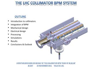 Christian  Boccard  on behalf of the  collimator BPM team of  BE-BI-QP