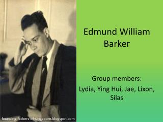 Edmund William Barker