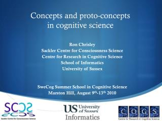 Concepts and proto-concepts in cognitive science
