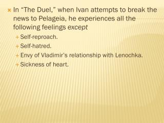 "What attitude toward dueling does  Teleshov's  story ""The Duel"" support?"