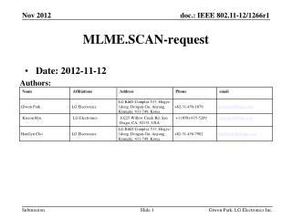 MLME.SCAN-request