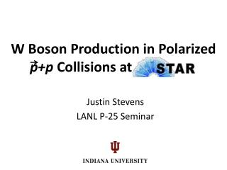 W Boson Production in Polarized  p+p  Collisions at       th