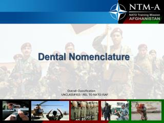 Dental Nomenclature