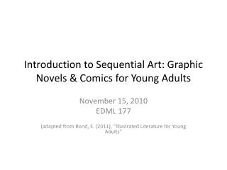 Introduction to Sequential Art: Graphic Novels & Comics for Young Adults