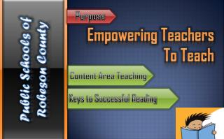 Empowering Teachers To Teach