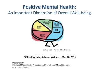 Positive Mental Health: An Important Dimension of Overall Well-being