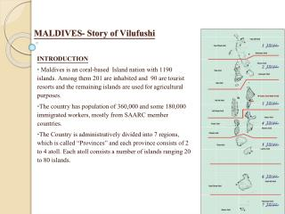 MALDIVES- Story of  Vilufushi