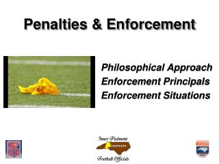 Penalties & Enforcement