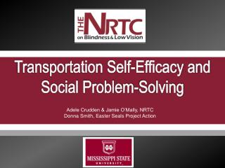 Transportation Self-Efficacy and Social Problem-Solving
