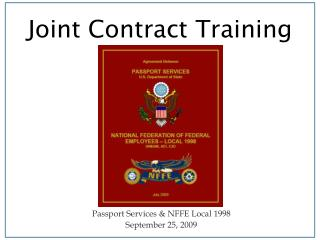 Joint Contract Training