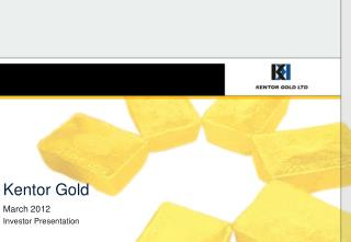 Kentor Gold