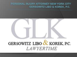 Personal Injury Lawyer New York