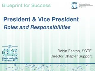 President & Vice President Roles and Responsibilities