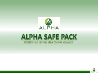 ALPHA SAFE PACK