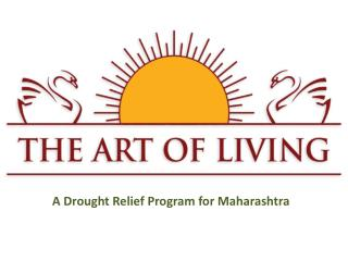 A Drought Relief Program for Maharashtra