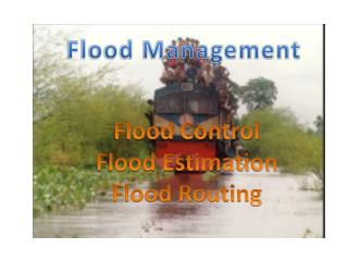 Flood  Management