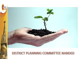 DISTRICT PLANNING COMMITTEE NANDED