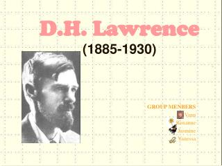 D.H. Lawrence (1885-1930)