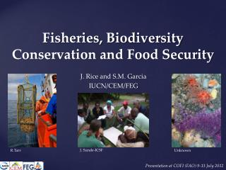 Fisheries, Biodiversity Conservation and Food Security