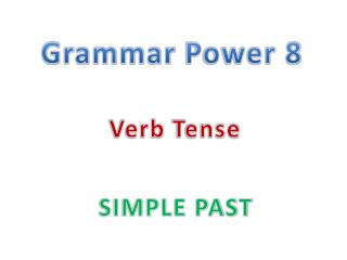 Grammar  Power 8