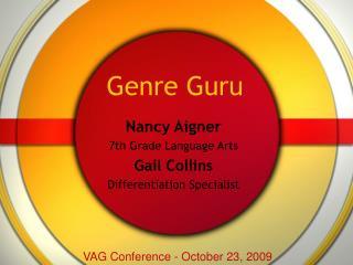 Genre Guru