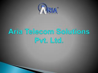 Flexible Contact Center Solutions by Aria Telecom