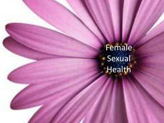 Female Sexual Health