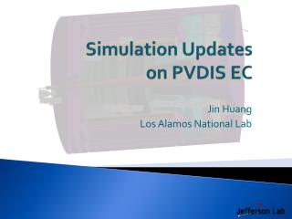 Simulation Updates on PVDIS EC