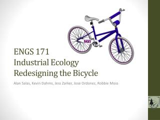 ENGS 171 Industrial Ecology Redesigning the Bicycle