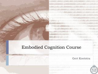 Embodied Cognition Course