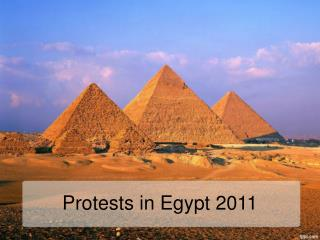 Protests  in  Egypt  2011